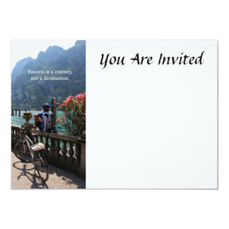 Success Is a Journey 4.5x6.25 Paper Invitation Card