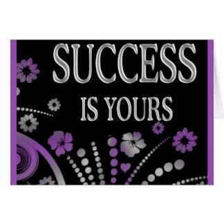SUCCESS IS YOURS CARDS