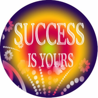 SUCCESS IS YOURS STANDING PHOTO SCULPTURE