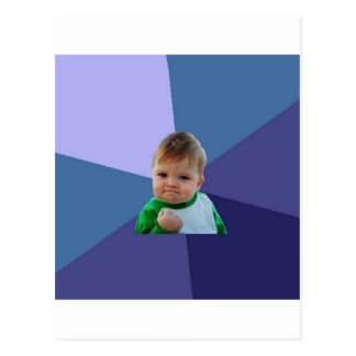 Success Kid Postcard
