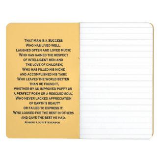 success message journal