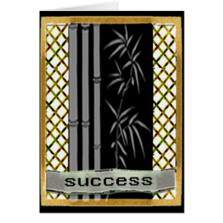 Success motivation greeting card