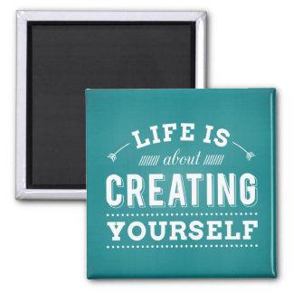 Success Motivational Attitude Life Quote Magnet
