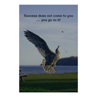 Success motivational print