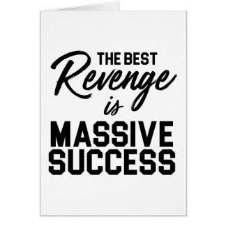 Success Revenge Card