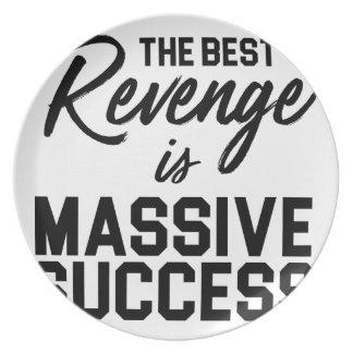 Success Revenge Plate