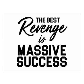 Success Revenge Postcard