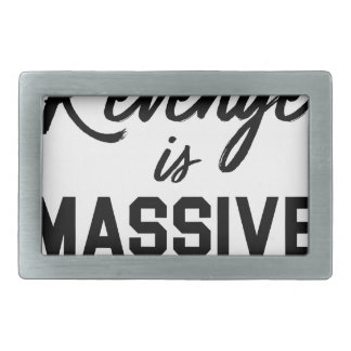 Success Revenge Rectangular Belt Buckle