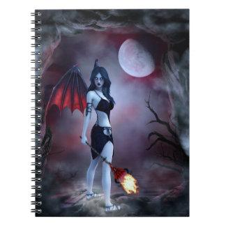 Succubus Fantasy Notebook