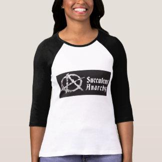 Succulent Anarchy Women's Baseball Shirt