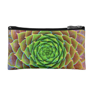 """Succulent Bag"" Makeup Bag"
