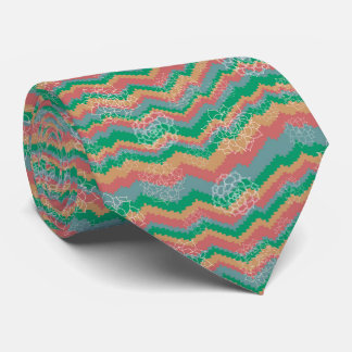Succulent Bargello Tie