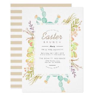 Succulent Bouquet Watercolor | Easter Invite