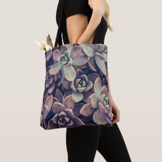 Succulent Cacti Photography Cross Body Purse Tote Bag