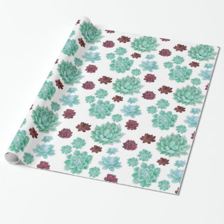 Succulent Cactus wrapping paper, gift wrap