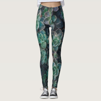 Succulent Joy Leggings