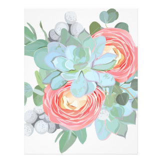 Succulent Letterhead
