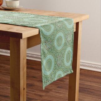 Succulent Mandala Short Table Runner