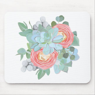 Succulent Mouse Pad
