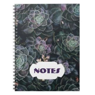 Succulent Notes | Spiral Notebook