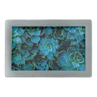 Succulent Plants Belt Buckles
