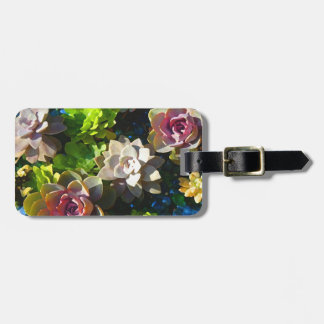 Succulent Pond by Amy Vangsgard Luggage Tag