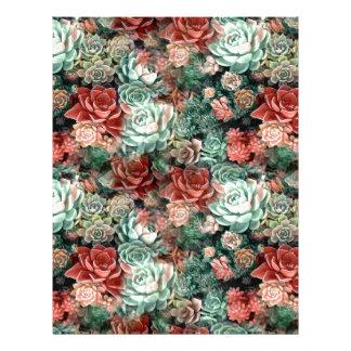Succulent Succulents Letterhead