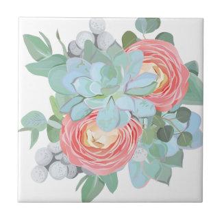 Succulent Tile