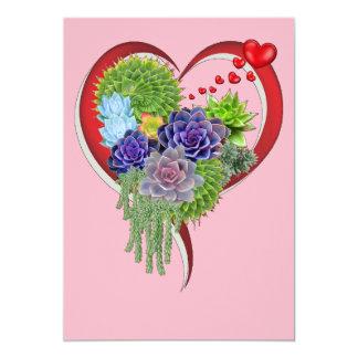 Succulent-wedding-bouquet Card