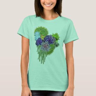 Succulent-wedding-bouquet T-Shirt