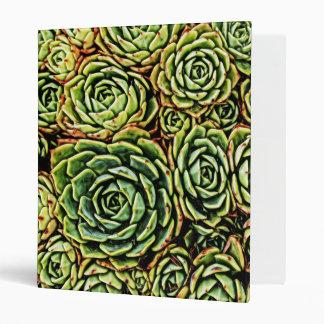 Succulents Binder