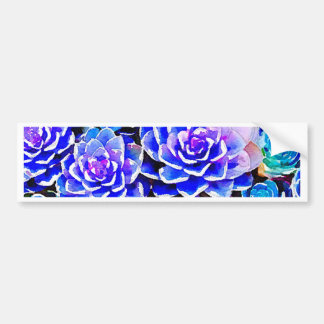 Succulents Bumper Sticker