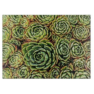Succulents Cutting Board