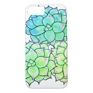 Succulents -green hues iPhone 8/7 case