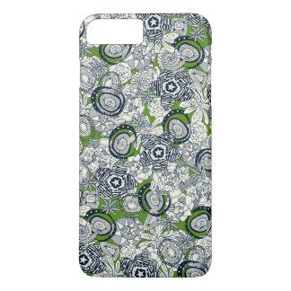 succulents green indigo iPhone 8 plus/7 plus case