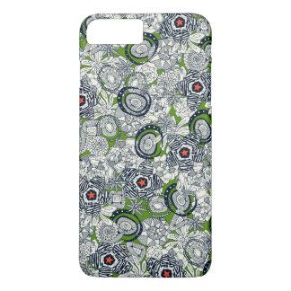 succulents green orange star Case-Mate iPhone case