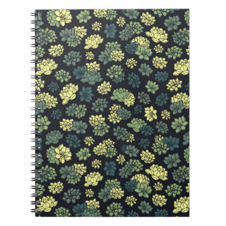 Succulents Pattern Notebook