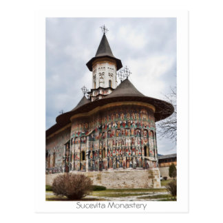 Sucevita Monastery Postcard