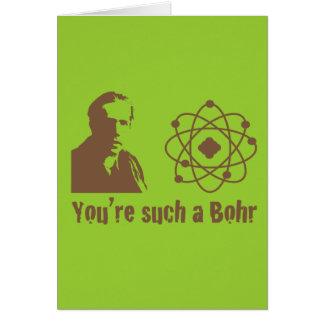 Such a Bohr Card