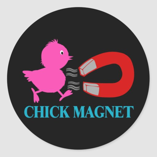Such A Chick Magnet Stickers