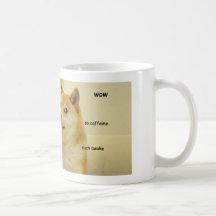 Such Doge Shibe mug