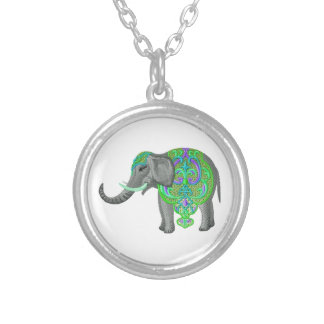 SUCH IS PROSPERITY SILVER PLATED NECKLACE