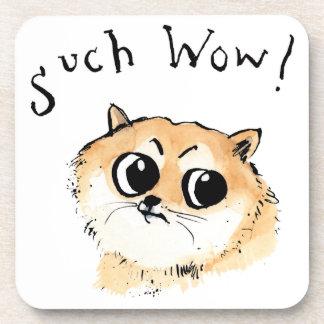 Such Wow! Doge Meme Coaster