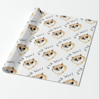 Such Wow! Doge Meme Wrapping Paper