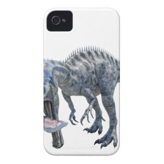Suchomimus Dinosaur Eating a Shark iPhone 4 Case-Mate Cases