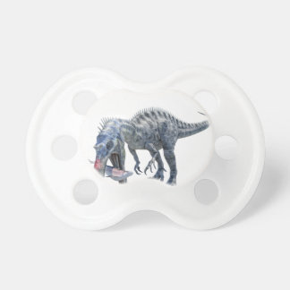 Suchomimus Dinosaur Eating a Shark Pacifier