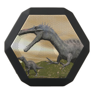 Suchomimus dinosaurs - 3D render Black Bluetooth Speaker