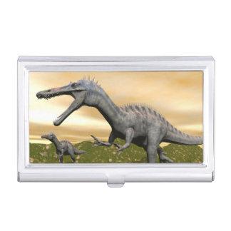 Suchomimus dinosaurs - 3D render Business Card Holder
