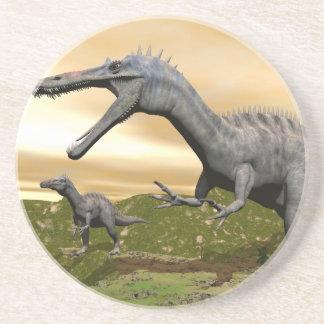 Suchomimus dinosaurs - 3D render Coaster