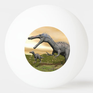 Suchomimus dinosaurs - 3D render Ping Pong Ball